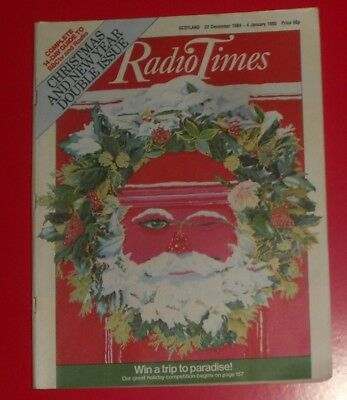 Radio Times 22 Dec To 4 Jan 1984/ 85, Christmas & New Year  Double Issue ,