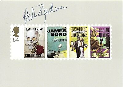 Honor Blackman Hand Signed James Bond Goldfinger Autographed PHQ