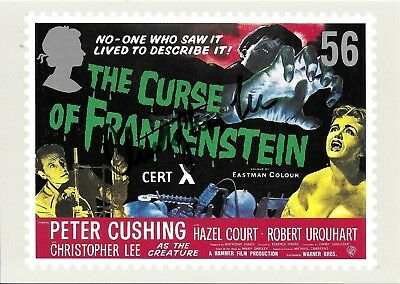 Christopher Lee Hand Signed Curse Of Frankenstein Autographed PHQ