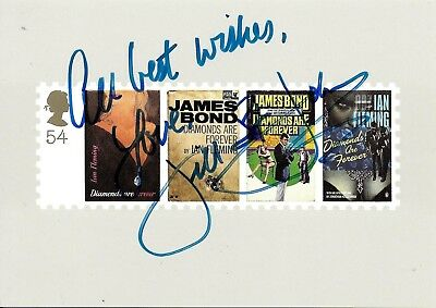 Jill St John Hand Signed James Bond Diamonds Are Forever Autographed PHQ