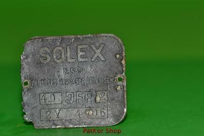 Vintage-bicycle-Tablet-Logo-of-the-manufacturer-Solex DRP -1940 /PA 4927