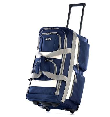 Luggage Travel Bag Wheels Carry On Suitcase Set Rolling Duffel Wheeled Trolley