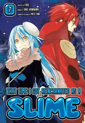 That Time I Got Reincarnated As A Slime 7 by Fuse 9781632366412