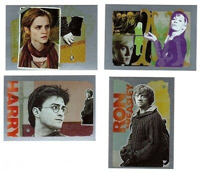 Harry Potter & The Deathly Hallows 2 Box Topper 4-Card Set