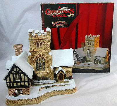 "David Winter Cottages A CHRISTMAS CAROL 6"" - w/ Box"
