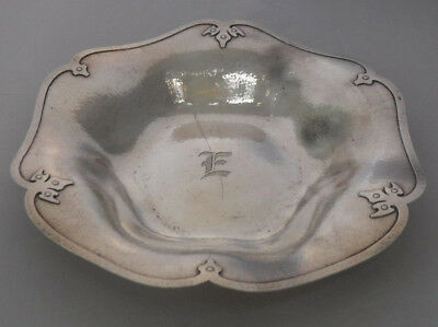 "Antique Shreve San Francisco Sterling Silver 14th Century 11"" SERVING BOWL"