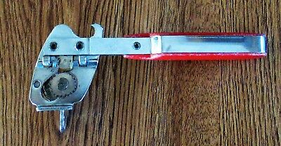 Vintage Vaughan's Multi Function Can Bottle Opener Red Handle Made In Usa