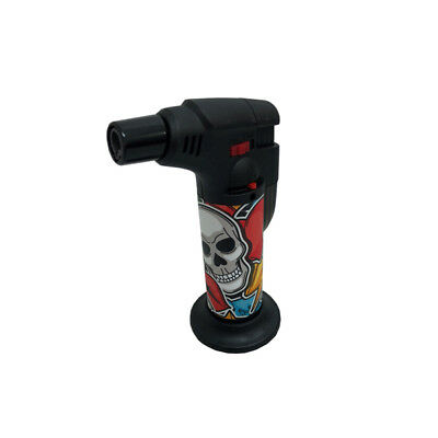 REBEL Stand Up Blowtorch Jet Lighter Assorted Unique Designs