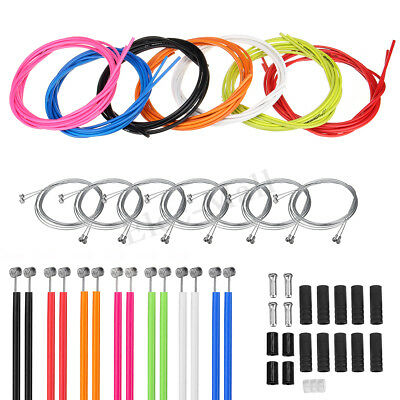 Jagwire Front & Rear Brake Gear Cable Kit Inner Outer MTB Mountain Bike Bicycle