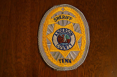 Anderson County Tennessee Sheriff Shoulder Patch