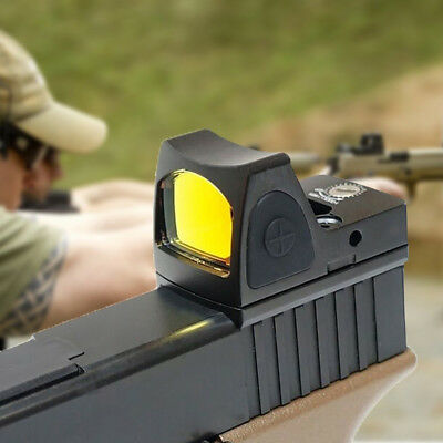 Mini Holographic Reflex Micro Red Dot Sight Scope Hunting Rifle&Pistol