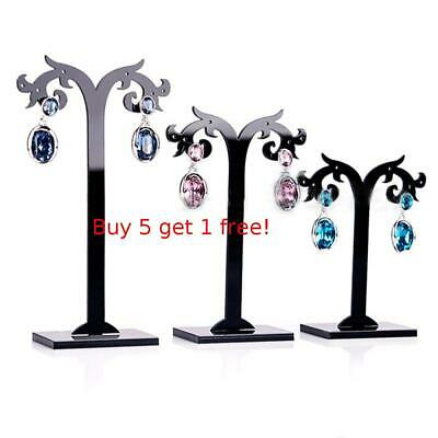 3 Pcs/Set Acrylic Earrings Removable Display Stand Jewelry Organizer Holder
