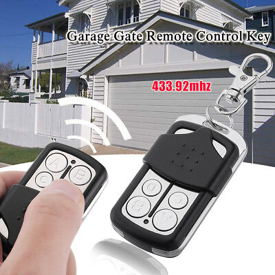 4 Buttons Garage Door Gate Remote Control Key For 230MHZ 433.92MHZ Wireless