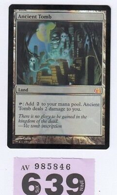 MTG Magic the Gathering - Ancient Tomb - Foil - From the Vault: Realms