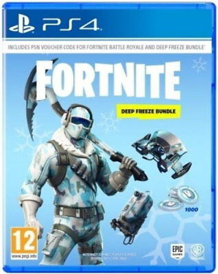 Sony PS4 Playstation 4 Spiel Fortnite Deep Freeze Bundle Edition NEU NEW 55