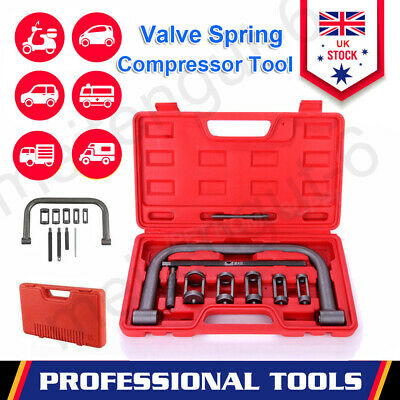 10 Piece High Quanility Car Motorcycle Valve Spring Compressor Tool Bit Set