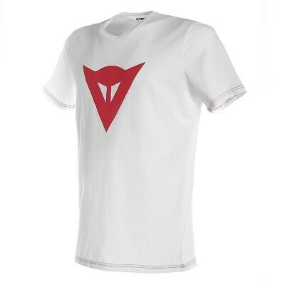 T-Shirt Dainese Speed Demon weiß/rot Gr. M