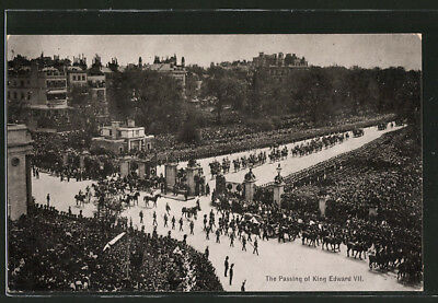 AK The passing of King Edward VII.