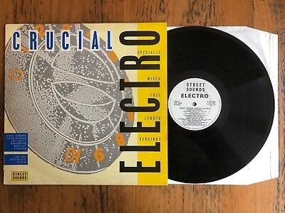 Street Sounds Crucial Electro - LP Record Vinyl Album - Hip Hop Electronic