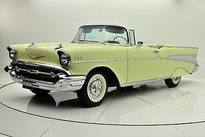 1957 Bel Air/150/210 Convertible 1957 Chevrolet Bel Air Convertible, Body Off Restoration, Matching Number Engine
