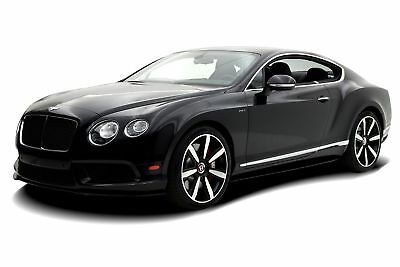 2014 Continental GT Coupe Certified 2014 Bentley Continental GT V8 S Coupe, One Owner, V8 S Launch Spec