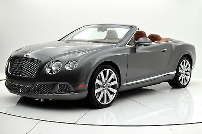 2014 Bentley Continental GT W12 Convertible