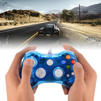 Wired Gamepad Game Controller For Xbox 360 With Ergonomic Design AC1516