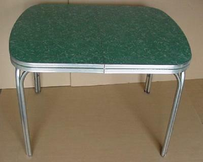 vintage 1950's 60's formica kitchen table diner style table display collectible