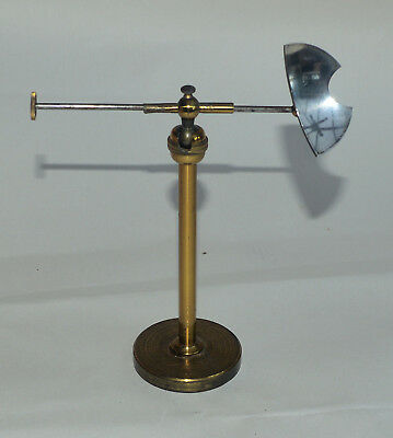Lieberkuhn (reflecting mirror) on stand for brass microscope.