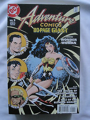 ADVENTURE COMICS 80 PAGE GIANT 1. SQ BOUND ONE-SHOT. BYRNE, WINSLADE etc.DC 1998