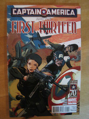 Captain America & The First Thirteen  1.  One-Shot. Marvel. 2011