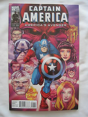 Captain America : America's Avenger  1 One-Shot. All Things Cap ! Marvel. 2011
