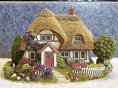 Lilliput Lane .. BUNNY BURROWS .. Special Event - Special Edition .. BOX & DEED