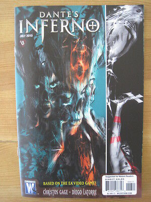 DANTE'S INFERNO  6  by GAGE & LATORRE. BASED ON THE VIDEO GAME. WILDSTORM. 2010
