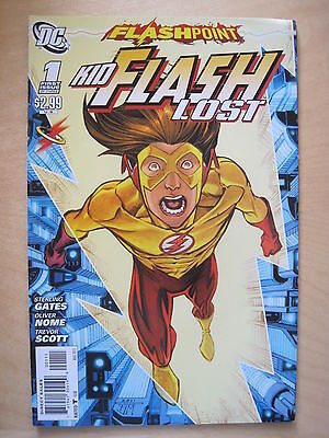 Flashpoint :  Kid Flash Lost  1.  It All Changed Here !  Dc   2011
