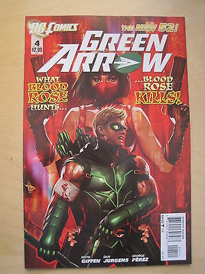 GREEN ARROW 4  by Giffen & Jurgens. DC THE NEW 52. 2012
