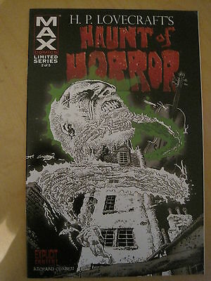 H. P. LOVECRAFT 's HAUNT of HORROR by RICHARD CORBEN  issue 2. MARVEL MAX. 2008