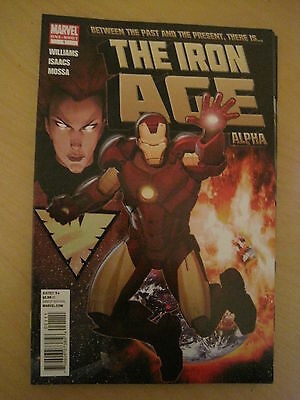 IRON MAN : THE IRON AGE ALPHA ONE-SHOT by WILLIAMS & ISAACS. MARVEL. 2011