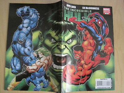 INCREDIBLE HULK # 600 VARIANT by LOEB & McGUINNESS. G/Size, LOTS OF EXTRAS.2009.