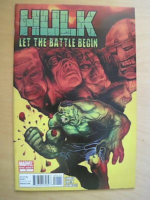 HULK  : LET BATTLE BEGIN one-shot 1 by SNIDER & KURTH. MARVEL. 2010