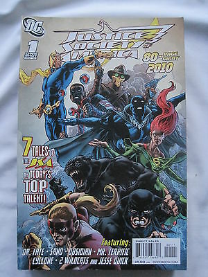 JUSTICE SOCIETY of AMERICA  80 PAGE GIANT 1  ONE-SHOT. FINE CREATIVES. DC 2010