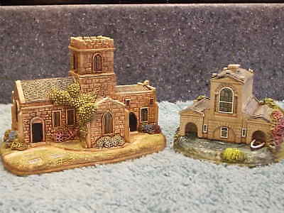 Lilliput Lane .. KEDLESTONE BOATHOUSE & CHURCH .. 2 Day Only Special Edition