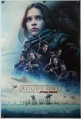 Rogue One a Star Wars Store - original DS movie poster D/S 27x40 - FRENCH Final