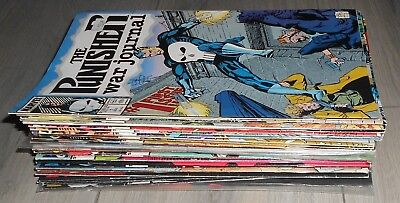 Lot Of 31 The Punisher War Journals Comics # 1 To # 87