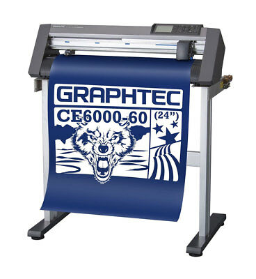 New GRAPHTEC CE6000-60 PLUS Vinyl Cutter Plotter w/Free Stand - USCutter