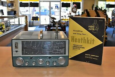 HEATHKIT GC-1A MOHICAN Vintage Ham Shortwave Radio Receiver Pre Owned FS BIN