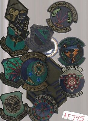 Lot Of Air Force  Military Patches (Af746), 2 Pics