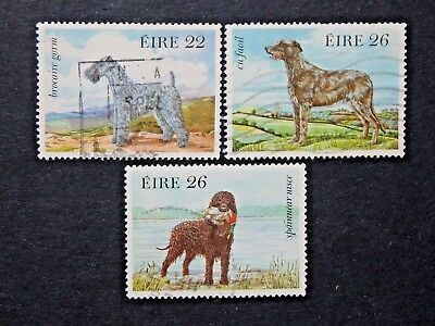Ireland  3  Used  Stamps  Sc # 563-565