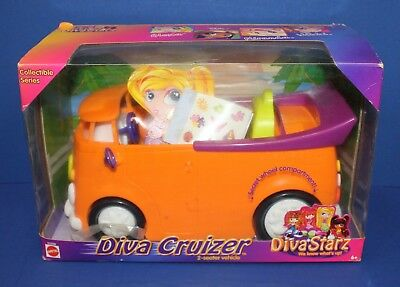 Mattel 55200 Diva Starz Cruizer VW Van MIB New 2001