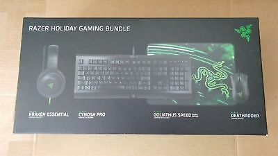 126005d9266 Razer Holiday Gaming Bundle Cynosa Pro Keyboard Deathadder Mouse Kraken  Headset